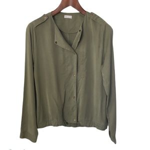 GENTLE FAWN Green Lightweight Long Sleeve Jacket L